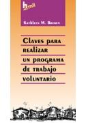 Claves para realizar un programa de trabajo voluntario