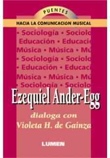 Violeta H. de Gainza conversa con Ezequiel Ander-Egg