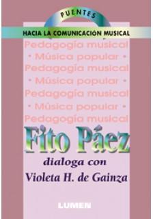 Violeta H. de Gainza conversa con Fito Páez