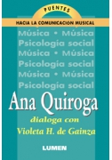 Violeta H. de Gainza conversa con Ana Quiroga