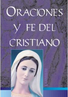 Oraciones y fe del cristiano