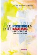 Lo positivo en psicoanálisis