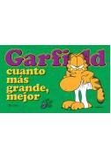 Garfield cuanto más grande, mejor